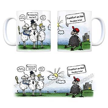 Trendaffe Hessen Kaffeetasse Buro Kollegen Wichteln Cool Lustig