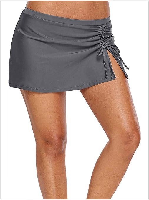 Hoverwin – Falda de Playa para Mujer Culottes bañador de Bikini ...