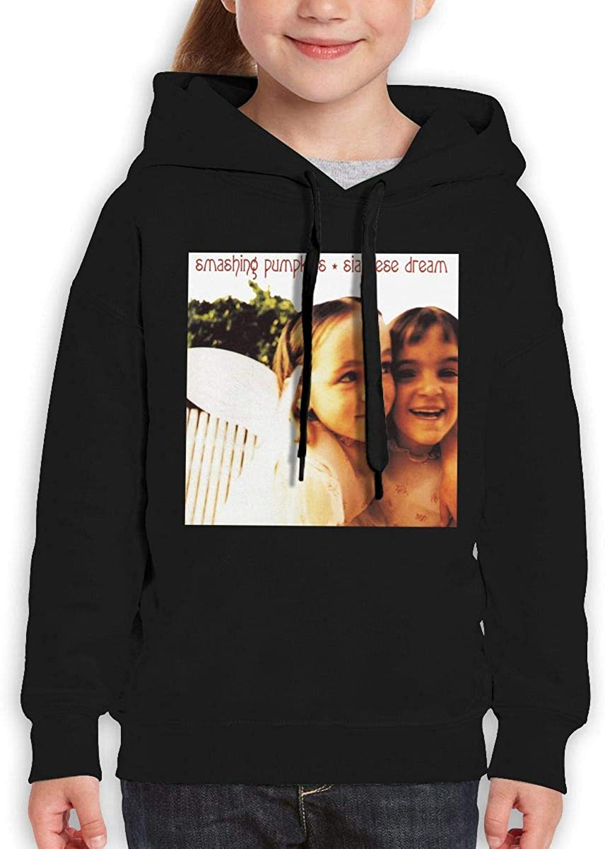 Guiping Smashing Pumpkins-Siamese Dream Teen Hooded Sweate Sweatshirt Black