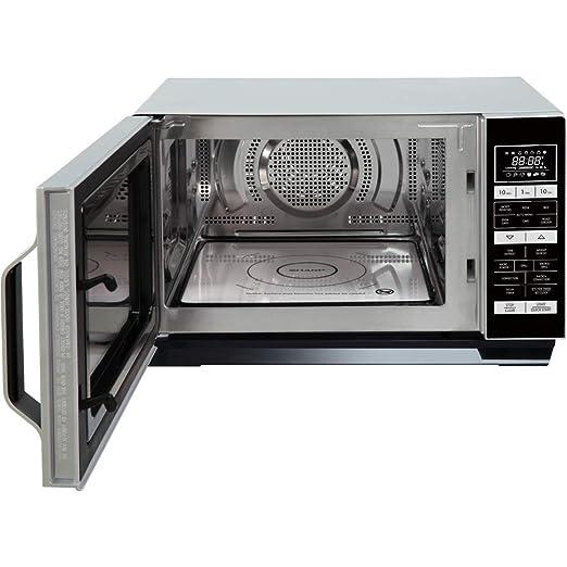 SHARP R860SLM Horno Microondas 25 litros Capacidad de Plata 900 W ...