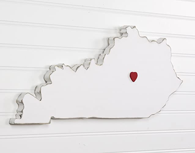 Amazon Com Kentucky State Shape Wood Cutout Sign Wall Art 20 Wide