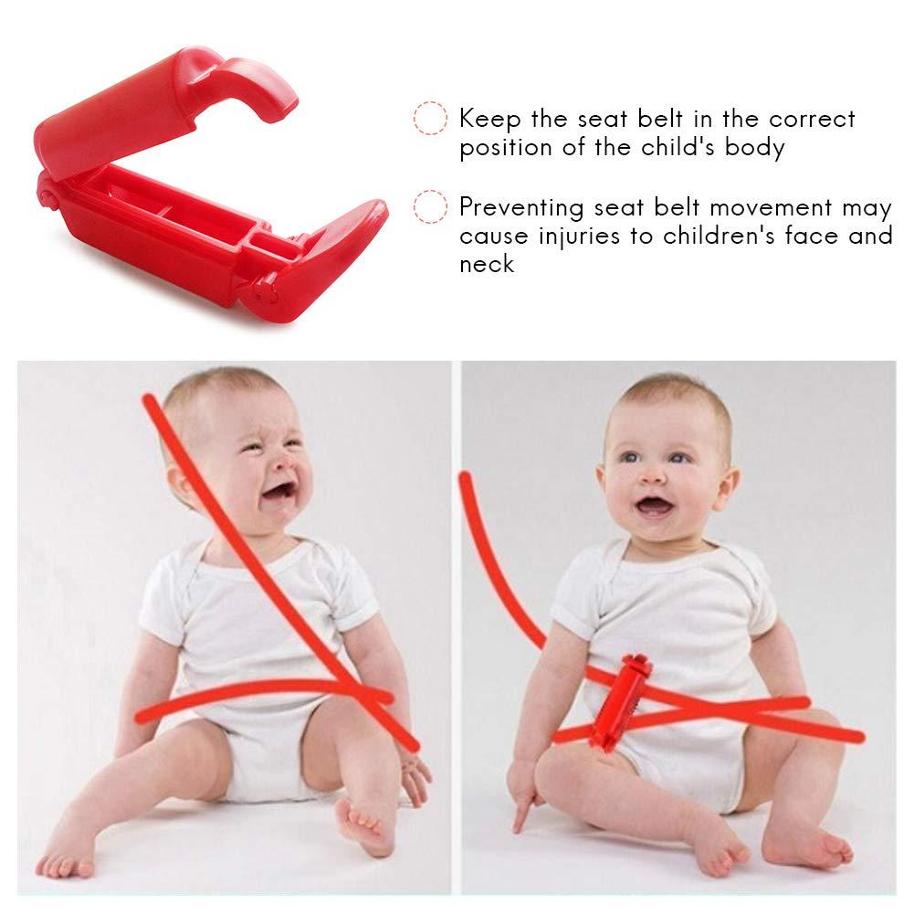 2 St/ücke Baby Autositz Sicherheitsgurt Verschluss Clip Schnalle Yissma Baby Brustgurt Clip Kinder Rutschfeste Clip Strap f/ür Babysicherheit