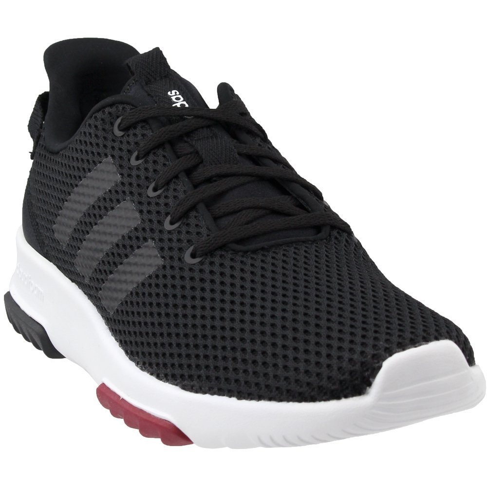 adidas Womens CF Racer TR W Running Shoe, Black, 6 B(M) US