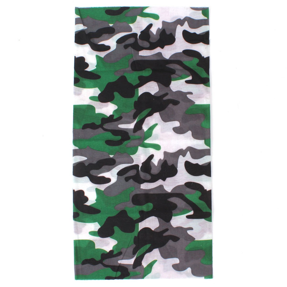 Camouflage Neck Face Mask Seamless Tube Snood Motorcycle Biker Outdoor Scarf