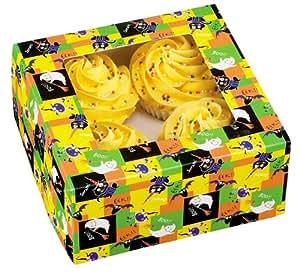 Wilton Halloween Cupcake Box Set, 4 Count