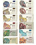 GoMacro Variety Pack, 1 bar each (pack of 12) – 12 Flavors including 3 new flavors