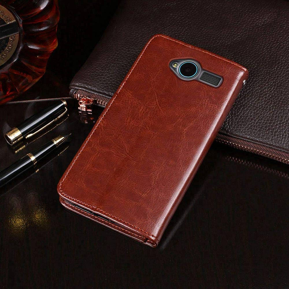 Amazon.com: Case for ZTE Blade L3, PU Leather Stand Wallet ...