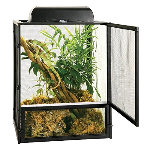 Zoo Med ReptiBreeze Open Air Screen Cage, Small, 16 x 16 x 20-Inches