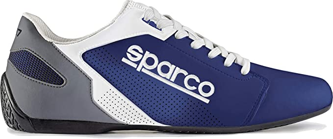 SPARCO S00126337AZBI Zapatillas SL-17 Talla 37 Azul Blanco ...