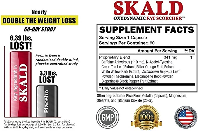 skald diet pills side effect