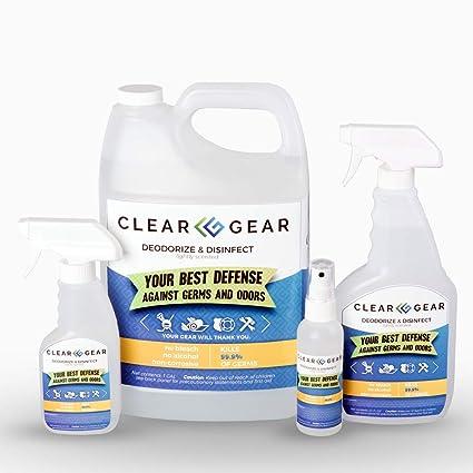 Amazon.com: Clear Gear aerosol deportivo en botella de 8 ...