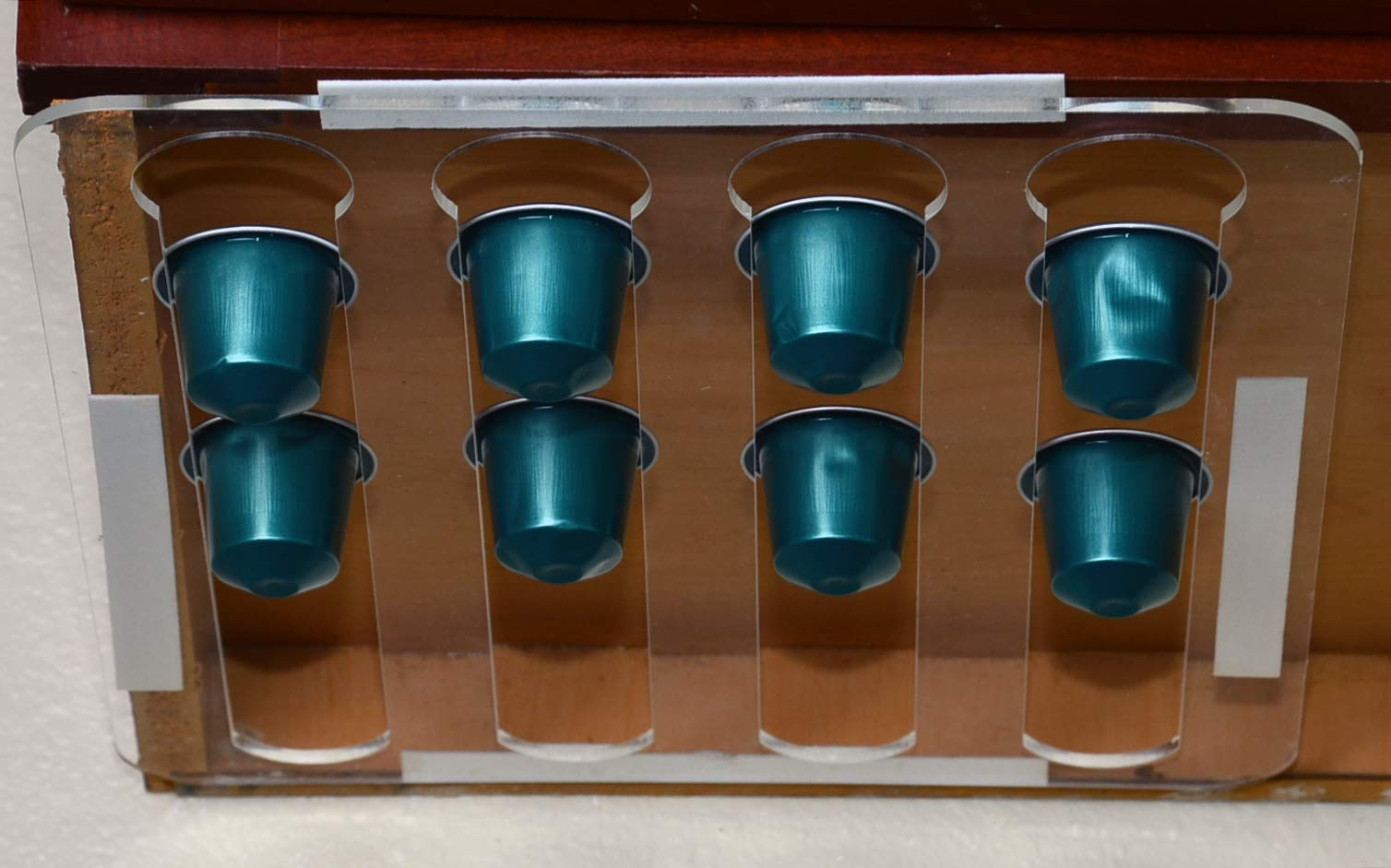 Marketing Holders Under Cabinets Coffee Pod Holder for Nespresso Lavazza Organizer Qty 6 by Marketing Holders (Image #4)