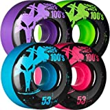Bones 53mm 100's Color Wheels