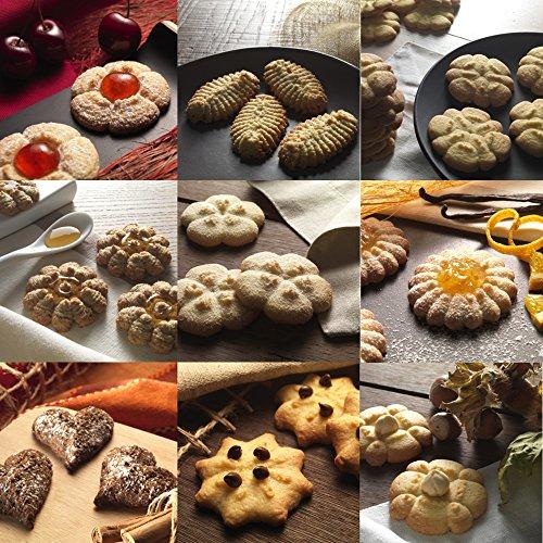 615%2BuMK6fBL - Marcato 08 01 05 Biscuits Cookie Press, Black