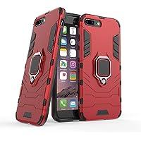 Kompatybilne z Apple iPhone 7 Plus, iPhone 8 Plus Etui Ochronne, Pierścień o 360 Obrót Magnetyczny Uchwyt na Telefon…