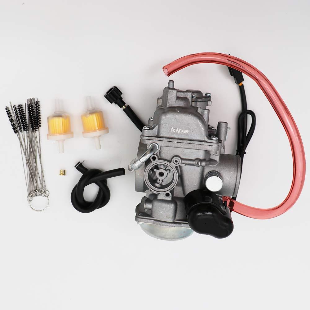 with carbon dirt jet cleaner tool kit & fuel filters kipa carburetor for arctic  cat 500cc