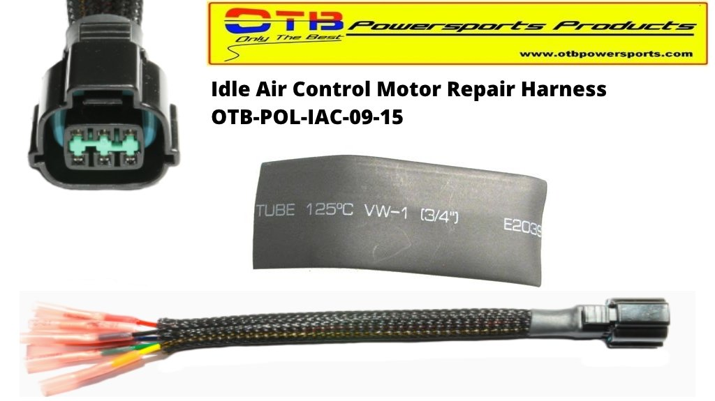 Polaris Idle Air Control Motor Wiring Repair Harness by OTB PowerSports