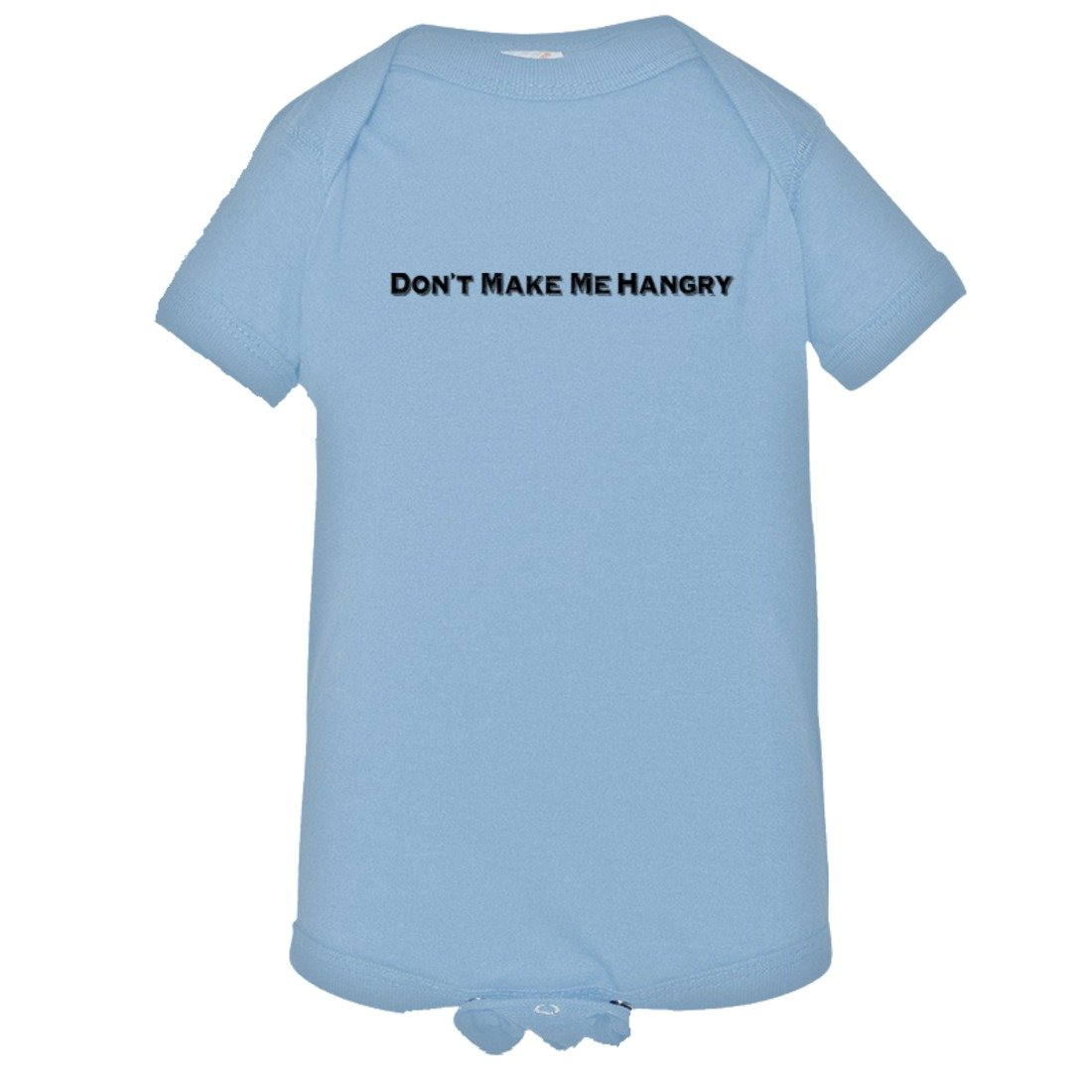 PleaseMeTees Baby Dont Make Me Hangry Funny Angry Hungry HQ Bodysuit 1-Piece
