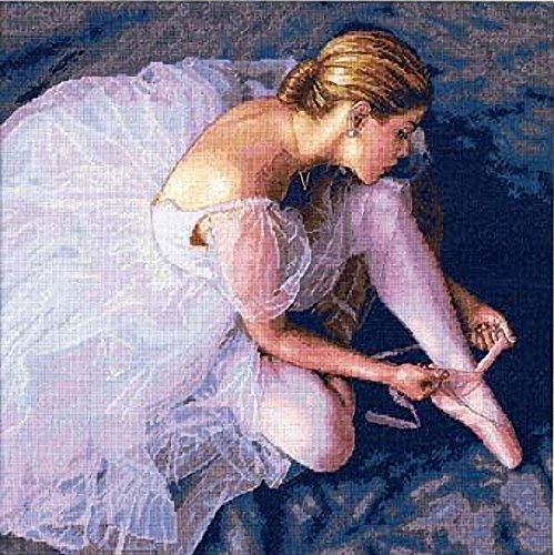 Dimensions Needlecrafts Counted Cross Stitch, Ballerina Beauty -  35181