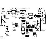 Amazon.com: Rvinyl Rdash - Kit de calcomanía para Toyota ...