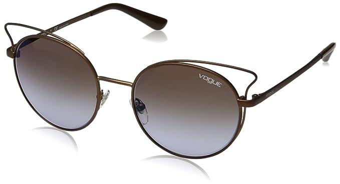 Vogue Casual Chic Gafas de Sol, Matte Light Brown, 52 para ...