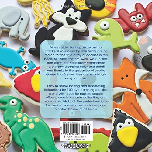 100 Animal Cookies: A Super Cute Menagerie to Decorate Step-by-Step: Lisa  Snyder: 0884130679417: Amazon.com: Books