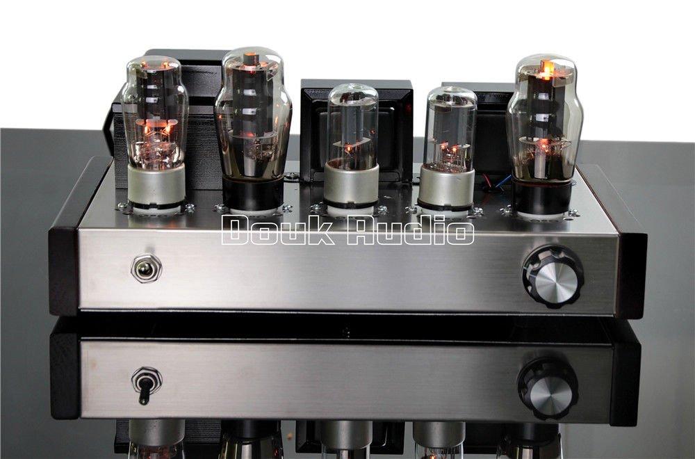 Amazon.com: Nobsound 6N8P+6P3P HIFI amplificador de potencia ...