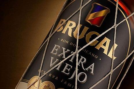 Brugal Extra Viejo Ron Dominicano 37.5% Vol. 0.7L - 700 ml ...