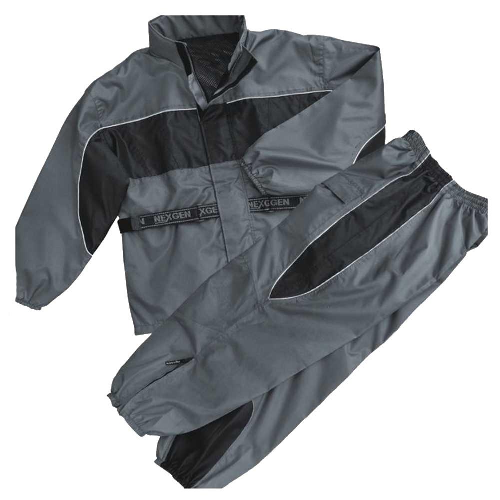 NexGen Womens Rain Suit Black//Purple, Small