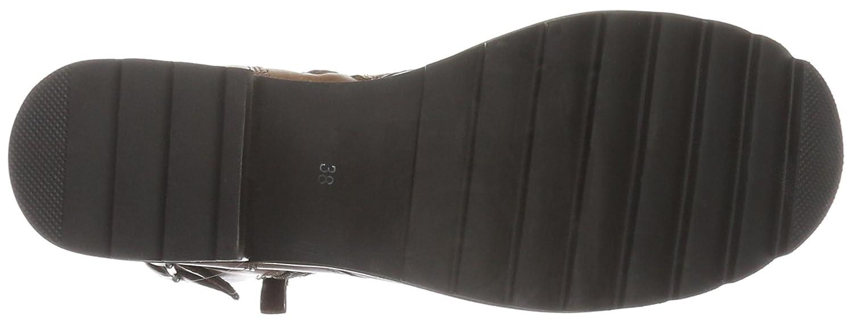 SPM Damen schwarzfish Lace Biker Stiefel Braun Braun Stiefel (Dk Cuoio 006) 689e6d
