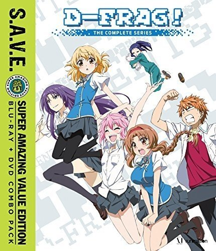 Blu-ray : D-Frag!: The Complete Series - S.A.V.E. (With DVD, 4 Disc)