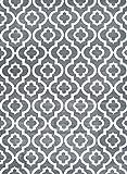 3028 Dark Gray Moroccan Trellis 7'10x10'6 Area