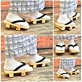 Japanese Wooden Clogs Sandals Japan Traditional