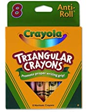 Triangular Crayons (8/Box) [Set of 3]