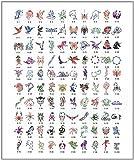 Paasche Tattoo Stencil Book, 100 Designs