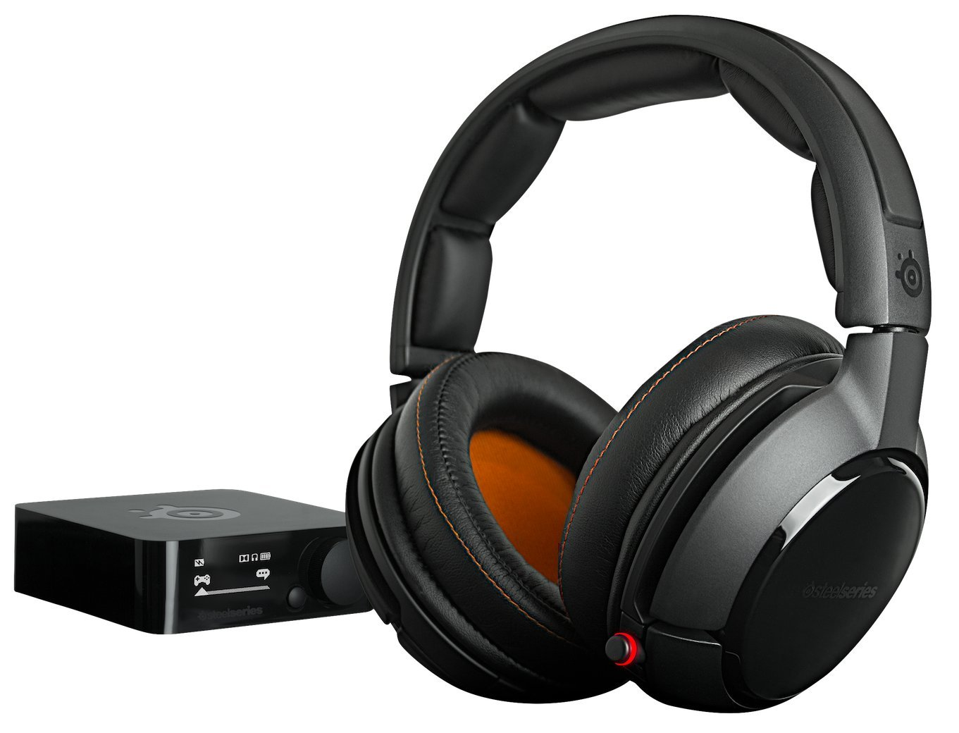 Amazon.com: Gaming headset SteelSeries Siberia 800, Black: Computers & Accessories