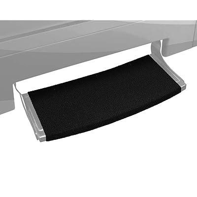 "Prest-O-Fit 2-0384 Outrigger Radius XT Curved RV Step Rug - 22"", Black Onyx: Automotive"