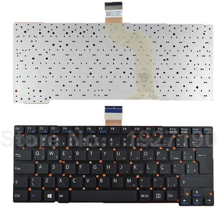 BR Brazil Keyboard Laptop for SONY SVT13 BLACK Without FRAME For Win8 Replacement Cuaderno de teclado
