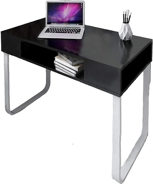 Abreo - Mesa de trabajo para ordenador (estilo retro, para ...