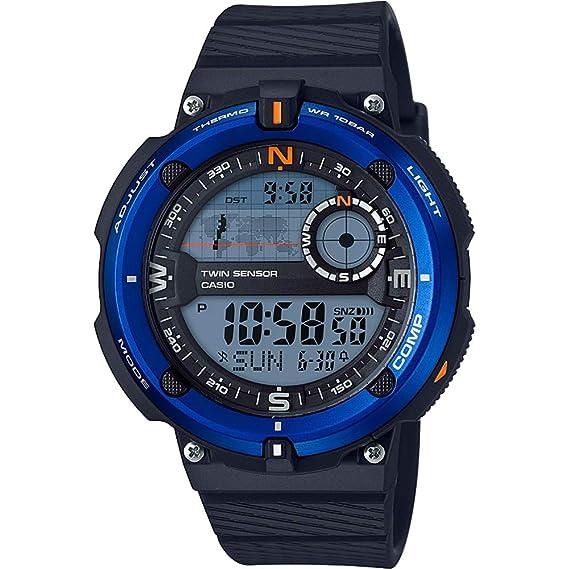Casio Reloj Digital para Hombre de Cuarzo con Correa en Plástico SGW-600H-2AER: Amazon.es: Relojes