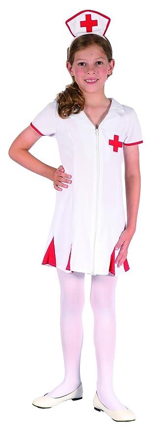 Disfraz enfermera niña - 7 - 9 años