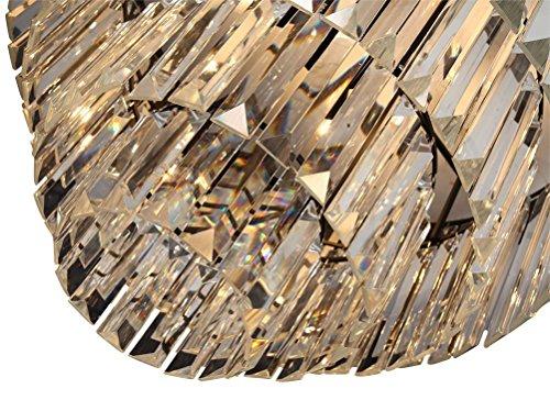 Lumos 12 Lights Luxury Modern Crystal Chandelier Pendant Ceiling Light for Dining Room, Living Room … (12 Lights) by Zgear (Image #3)