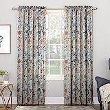 crest home design curtains. Product Details Amazon com  Floral Draperies Curtains Window Treatments