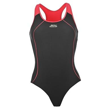74506bcbf1d Slazenger Womens Racer Back Swim Suit at Amazon Women s Clothing store