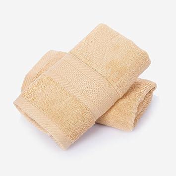 Toalla Toallas Fibra de Bambú, Toallas Blandas de Uso Múltiple para el Baño, Toallitas