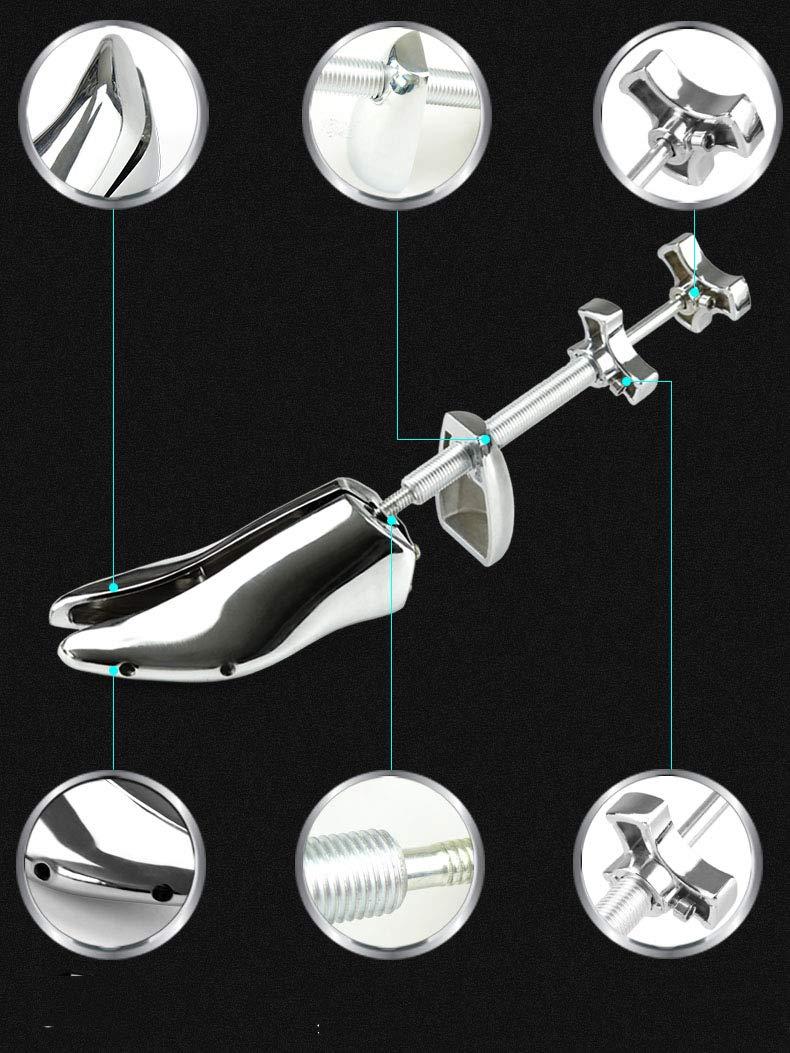 2Pack Men's Aluminum Alloy Shoe Stretcher Metal Adjustable Steel Shoe Expander Shoe Stretcher Shaper