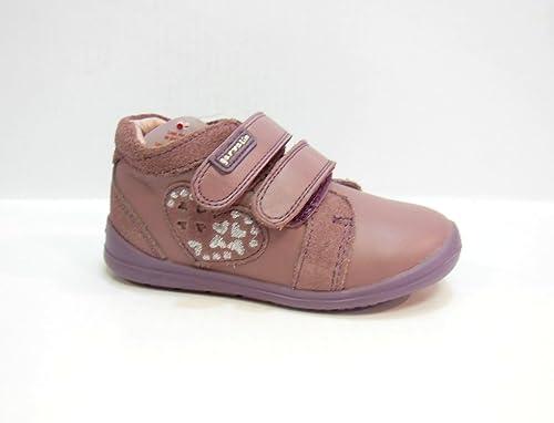 d07f6061 ZAPATILLA NIÑA DOBLE VELCRO CORAZON ROSA TALLA 18: Amazon.es: Zapatos y  complementos