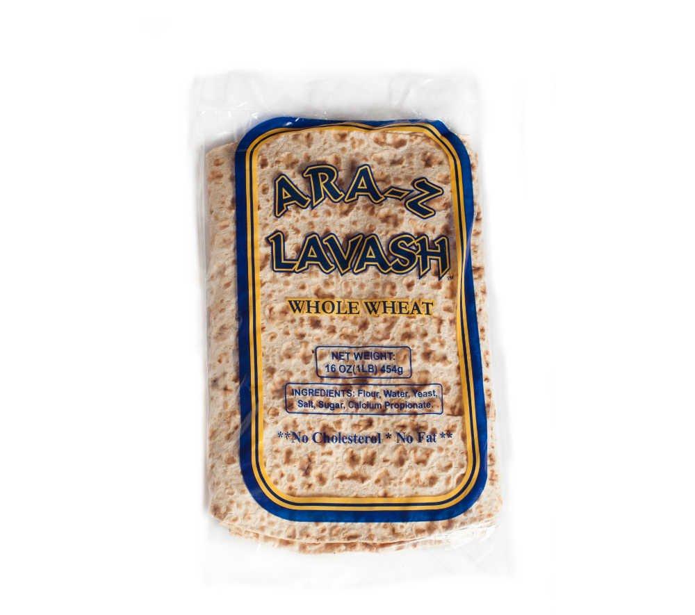 Ara-Z Lavash Whole Wheat (10-Pack)
