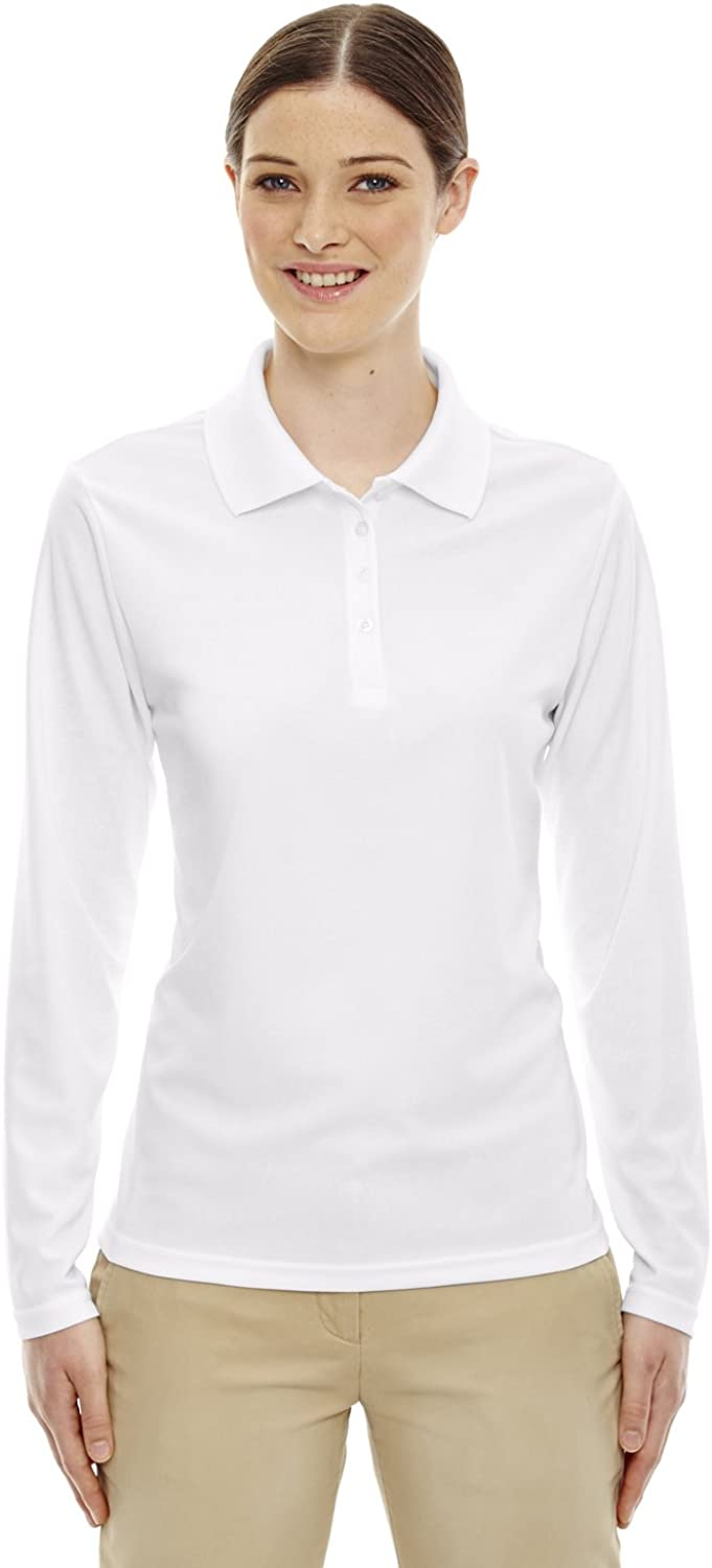 Ash City Core 365 78192 - Pinnacle CORE 365TMLadies' Performance Long Sleeve Pique Polos at  Women's Clothing store
