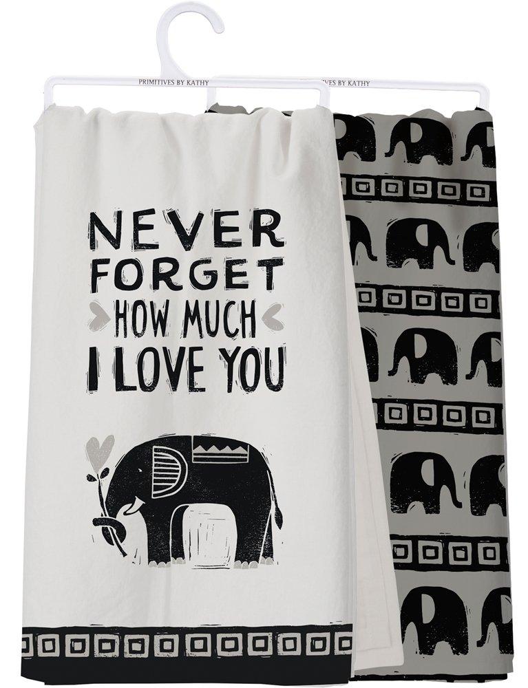 I Love You Dish Towel - Set of 2